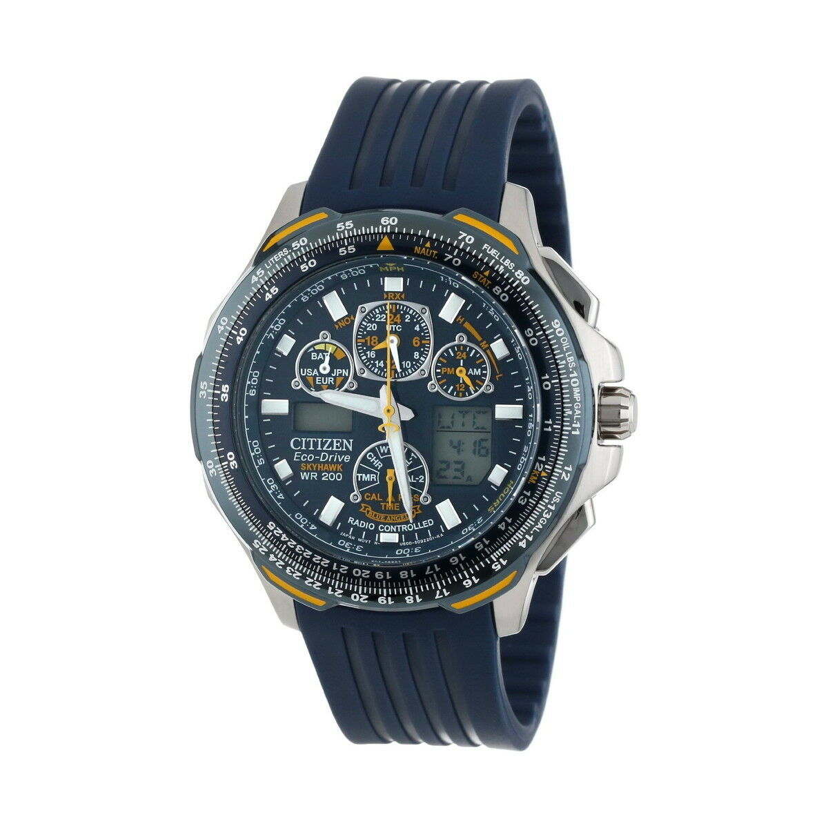 $299.99 - Citizen Eco-Drive Men's JY0064-00L Blue Angels Skyhawk Atomic Watch