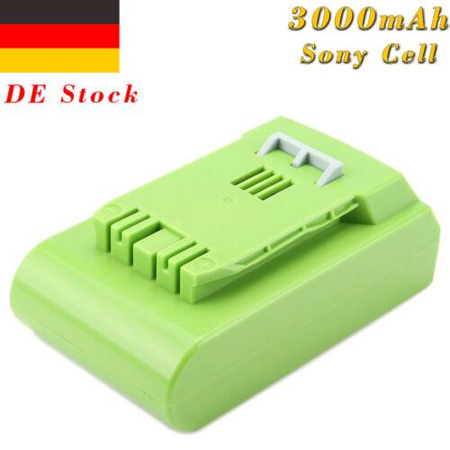 24V 3000mAh Li-Ionen Akku Batterie für GreenWorks G-24 24V 29842 29852