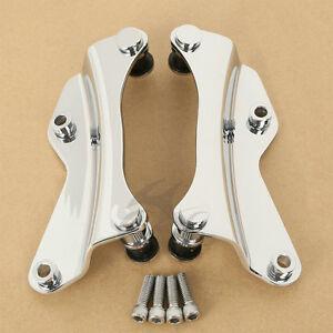 4 Point Docking Hardware Kit Chrome Fit Harley Davidson FLHR FLHX FLTRX 14-18