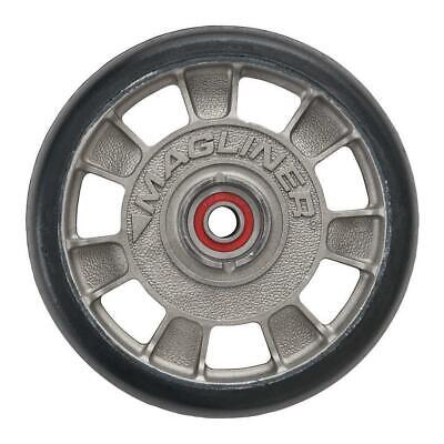 Magline 10815 8 Diameter Mold On Rubber Wheel With Red Sealed Semi Precision