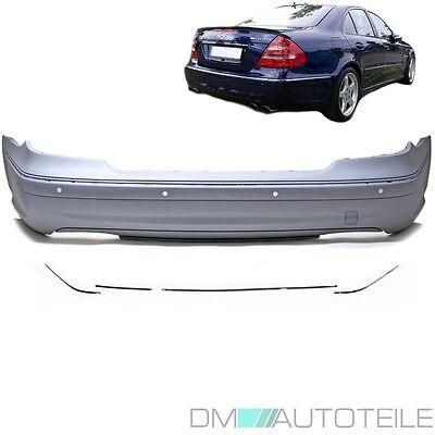 Mercedes W211 Heck Stoßstange hinten Limousine für PDC + Zubehör E55 AMG 02-06 gebraucht kaufen  Ahlen