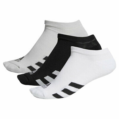 Adidas Golf Herren 2019 3er Pack No-Show Gerippt Gepolstert Weich Socken (Gepolsterte Socken No-show)