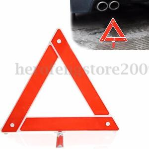 Car Truck Emergency Breakdown Triangle Red Reflective Safety Hazard Warning Sign