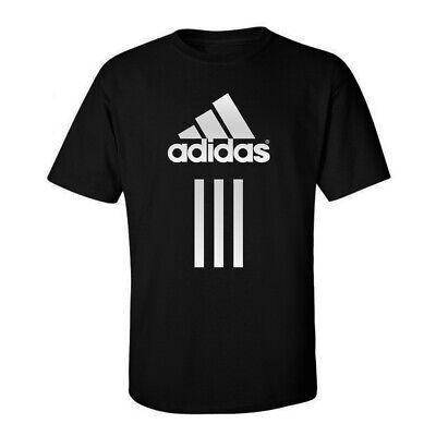 Adidas, Sports Fitness Mens Tees Graphic Funny Generic Novelty Unisex T-Shirt - Sports Novelties