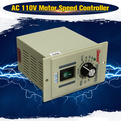 400W Motor Speed Controller AC DC-51 1/3 phase Variable Adjust Board For DC   1 Speed Motor