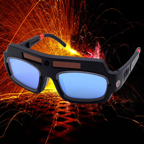 Solar Powered Auto Darkening Welding Mask Helmet Goggle Welder Glasses