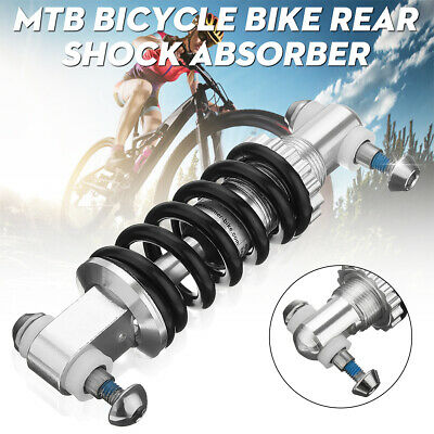 New MTB Bicycle Bike Rear Suspension Shock Absorber 750LBS//IN 165mm Silver