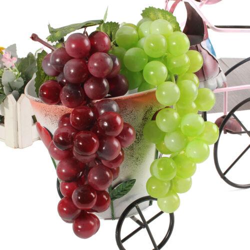 Grappolo Realistici Artificiale 36 Uva Plastica Finto Frutta Rubberiz Cibo Casa