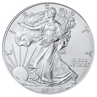 2017 1 Troy oz. American Silver Eagle Coin SKU44360