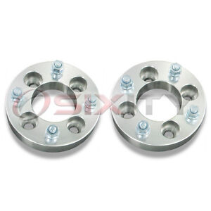 2pc-1-5-Aluminum-4-100-to-4-110-ATV-Wheel-Adapter-w-10-mm-Bolt-1-1-2-Inch