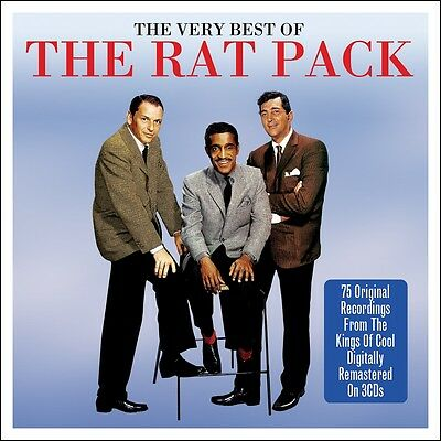 Rat Pack VERY BEST OF Frank Sinatra Dean Martin Sammy Davis Jr 75 SONGS New 3