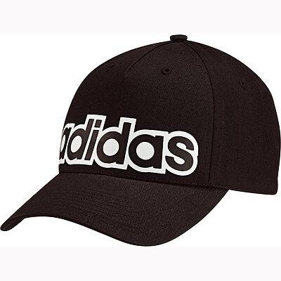 Adidas Cappy mit Logo Schwarz Basecap Baseballmütze Schirmmütze ClimaLite