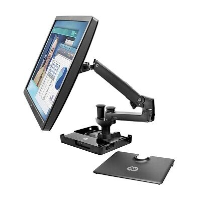 hot desk monitor stand up to 32in