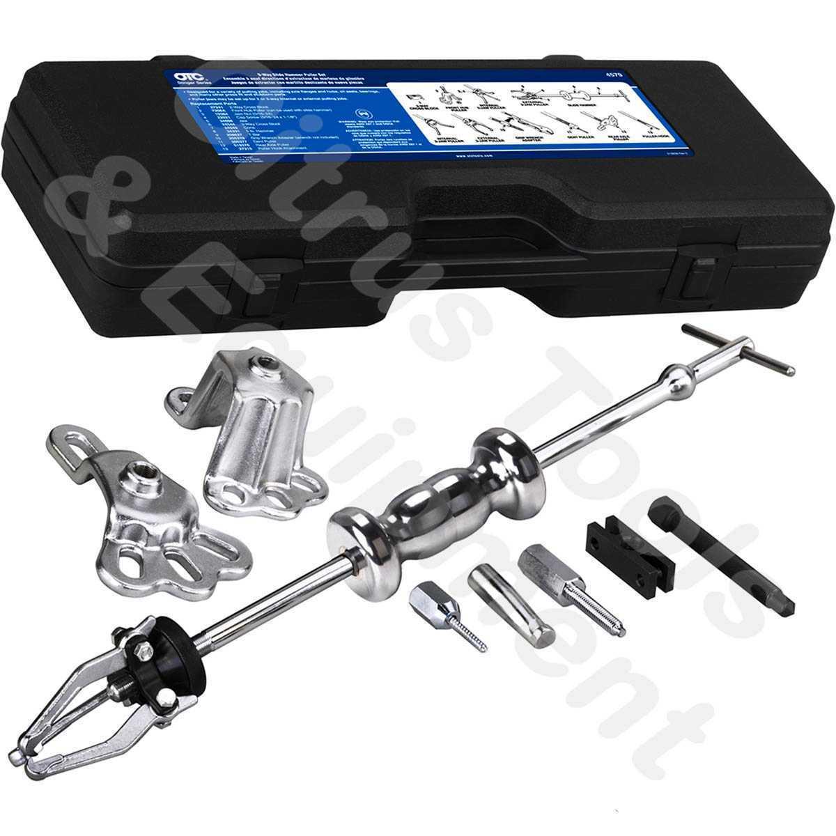 Gear Puller Set : Otc tools way slide hammer gear puller set with