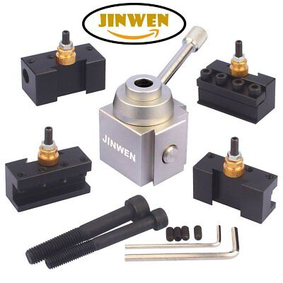 Jinwen 120034 Tooling Package Mini Lathe Quick Change Tool Post Holders Tool