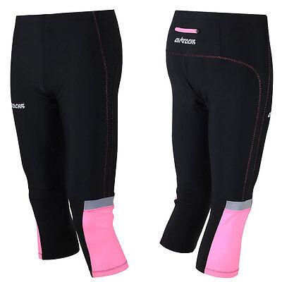 Running Hose (AIRTRACKS Damen Laufhose 3/4 Lang Pink / Funktionshose / Running Hose / Tight)