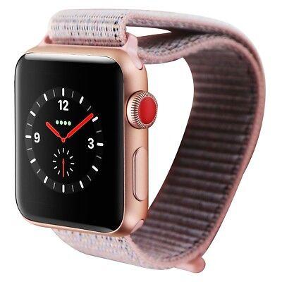 Apple Watch Series 3 (38mm) - MQJU2LL/A Gold Case & Pink Sand Loop GPS + LTE