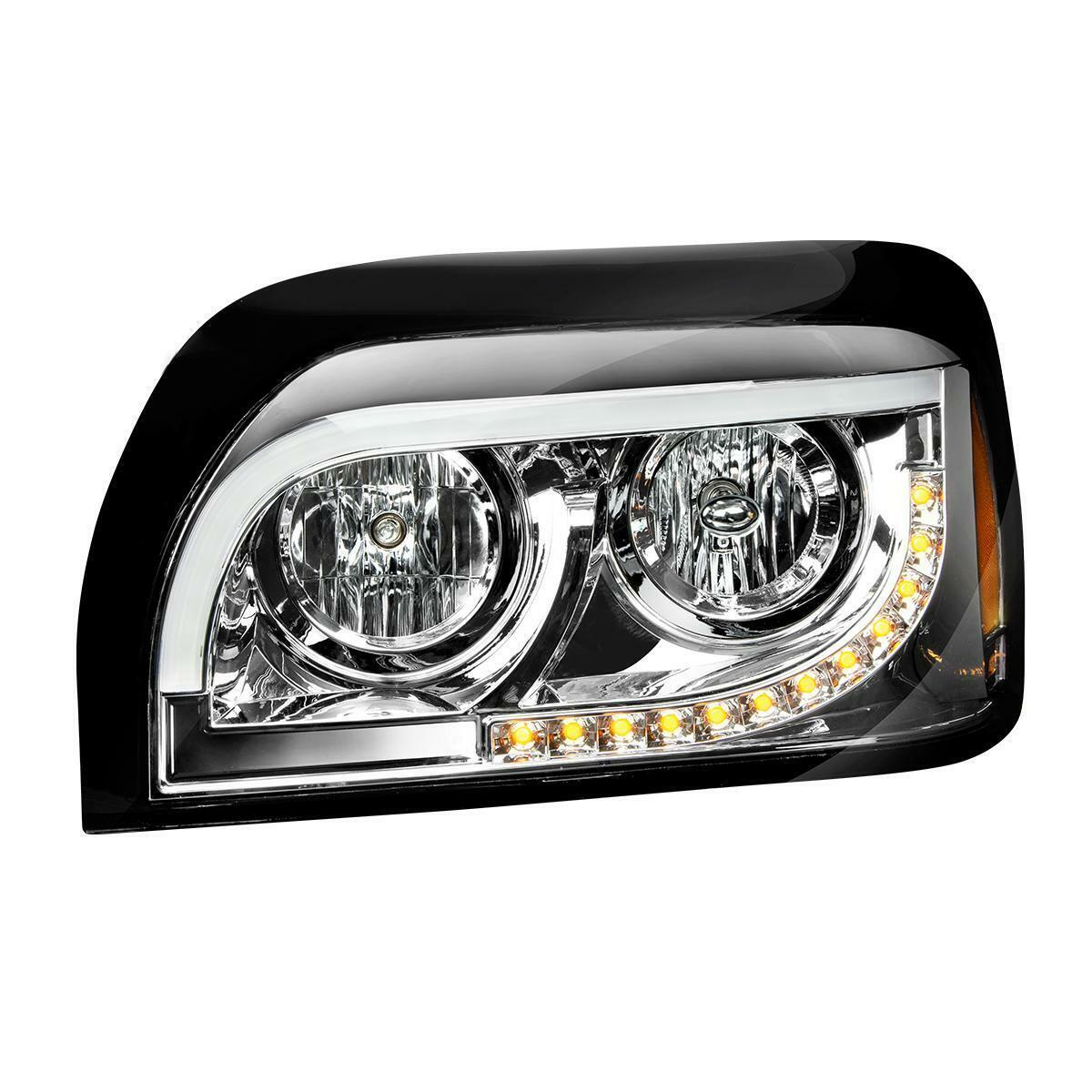::Freightliner Century 1996-2010 chrome Projection Headlight pair Driver Passenger