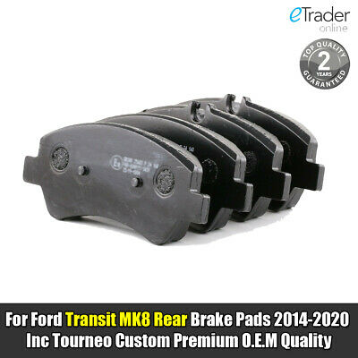 Ford Transit MK8 Rear Brake Pads 2014-2020 & Transit Custom 2012 onwards Quality