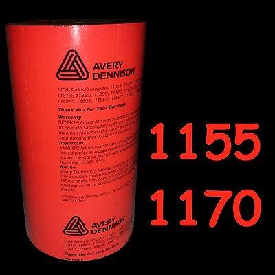 Monarch Paxar Genuine 1155 1156 1170 Red Labels 8000 Per Sleeve Price Gun