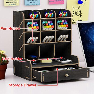 Multifunction Office Desk Organizer Desktop Pen Pencil Storage Container