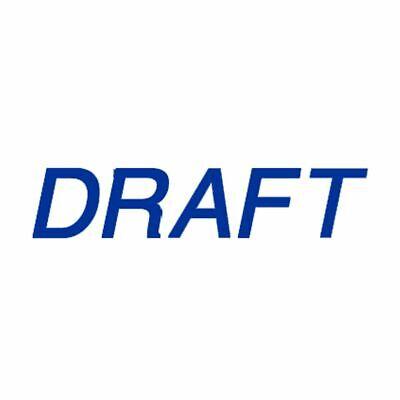 Draft - Trodat Ultimark Pre-inked Stamp