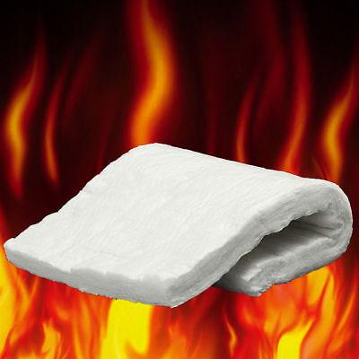 Ceramic Fiber Blanket High Temperature Thermal Temp Insulation White 4-size