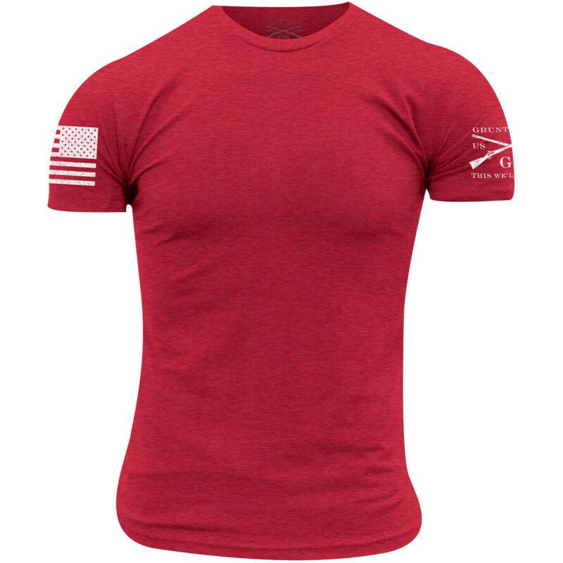 Grunt Style Basic Crew T-Shirt - Red