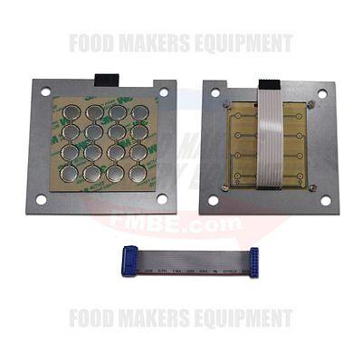 Baxter Ov210 Rack Oven Main Control Key Pad. Keypad. 01-1m2899-1