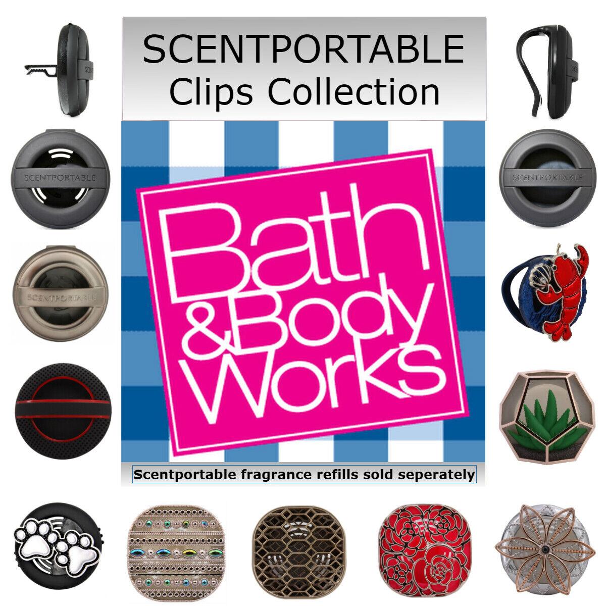 bath body works scentportable car air freshener