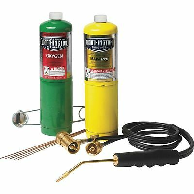 Mag-torch Brazing Cutting Welding Torch Kit Oxygen Map Pro-set