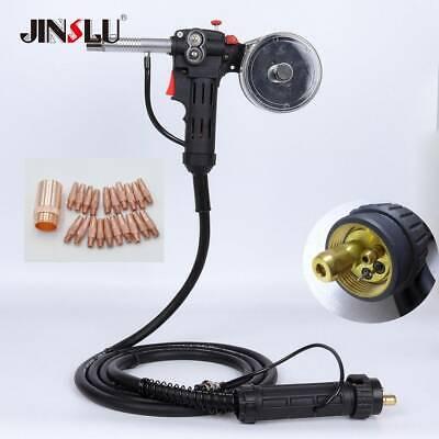 15ft Euro Adpator Mig Welder Spool Gun 200v Mag180i 180amp Igbt