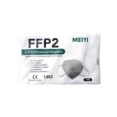Atemschutzmaske FFP2 NR, 10 Stück, Mundschutz, einzeln verpackt, zertifiziert