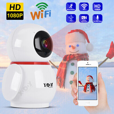 1080P HD Wireless WiFi IP Security Camera CCTV Home Smart Network Baby Monitor Home Network Monitoring
