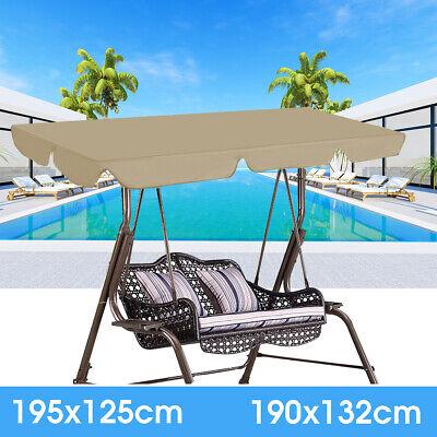 Swing Top Cover Canopy Replacement Porch Patio Outdoor Garden Courtyard 2  ()