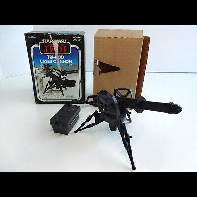 Vintage Star Wars ROTJ 1983 Boxed Kenner Tri-Pod Laser Cannon Original Insert