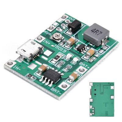 2a Usb 18650 Lithium Li-ion Battery Charger Module Boost 3.7v To 5v 9v 12v