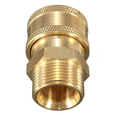 38 Coupler Adapter M22 Metric15mm For Pressure Washer Hose Non Standard Size