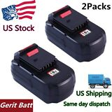 2PCS Replace for Porter Cable 18v Battery 3000mAH NIMH PC18B Cordless Power Tool