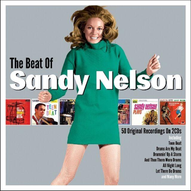 SANDY NELSON - THE BEAT OF  2 CD NEU