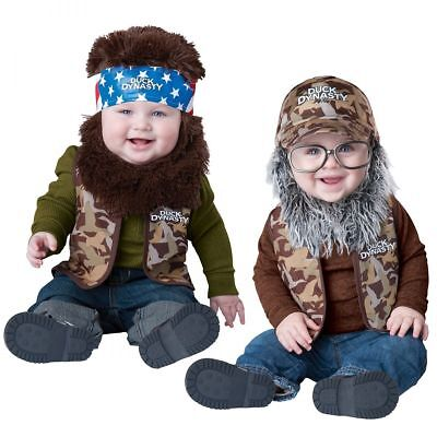 Duck Dynasty Baby Costume Funny Halloween Fancy Dress - Duck Baby Costume