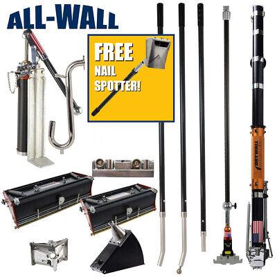 Drywall Master Full Set Taping Finishing Tools Free Nail Spotter - 325 Value