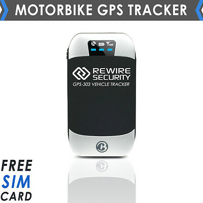 303 NO CONTRACT CAR VEHICLE MOTORBIKE GPS TRACKER MOTORCYCLE TRACKING DEVICE -BB