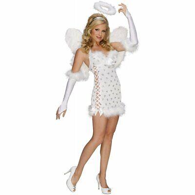 Rubie's 889298 ANGEL SEXY Taglia M Costume Adulto Nuovo Donna Secret Wishes