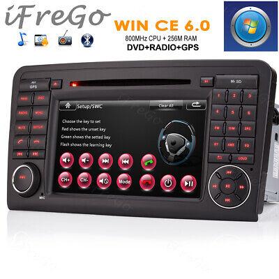 """Für BENZ ML W164 W300 ML350 GL X164 GL320 7"""" Autoradio GPS Navigation DVD Radio"""