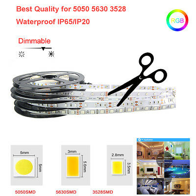 Wholesale 5050/5630/3528 Best Quality RGB White Waterproof 300 LED Strip