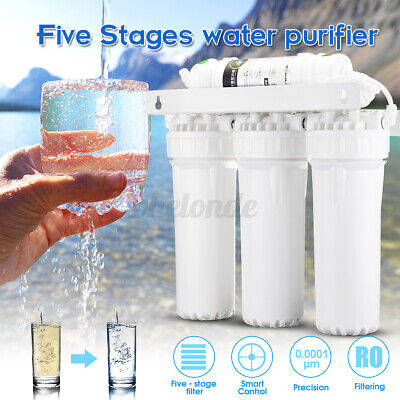 5 Stage Home Drinking Water Filter Purifier Ultra-filtration Hollow Fiber Syste