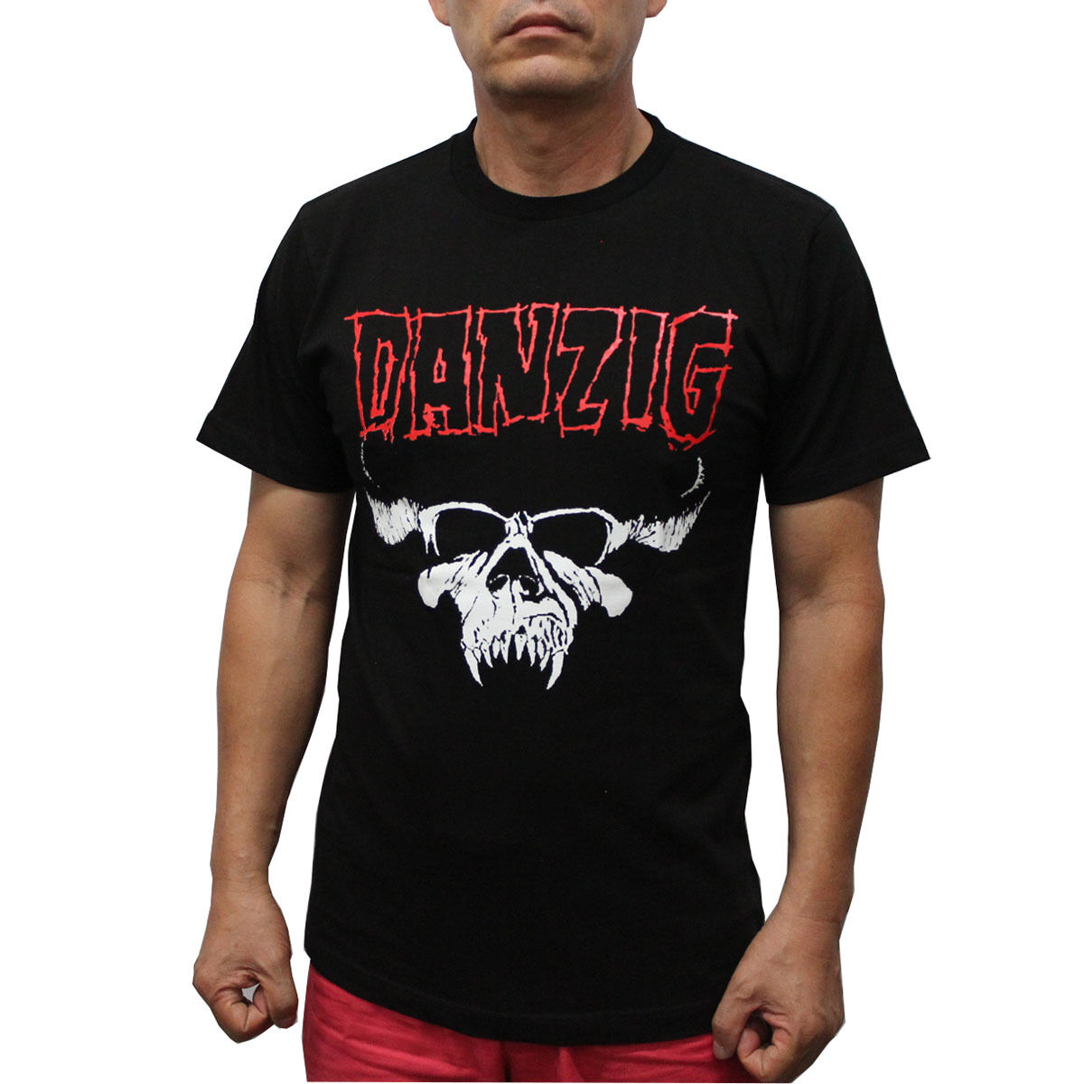 Danzig Heavy Metal Band T-Shirt Red Logo