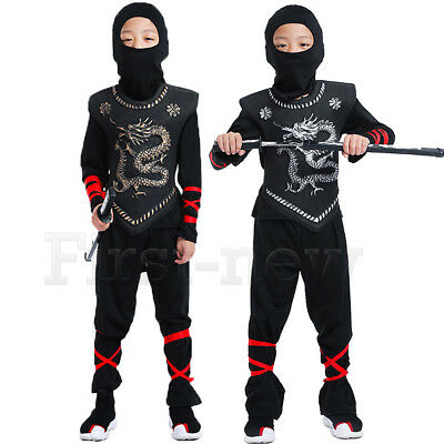 For Naruto Ninjago Cosplay Costume Superhero Boys Halloween Samurai Assassin - Naruto Costume For Kids