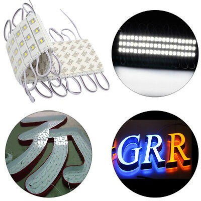 Led Sign Letter Advertisement Light 3 Ledsegment 12v 5630 Cold White Outdoor